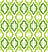 Vector seamless pattern. Moroccan style wallpaper. EPS 8. poster