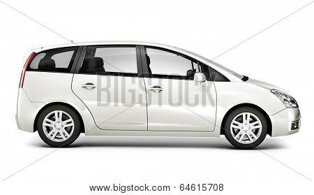 Luxury 3D SUV Car