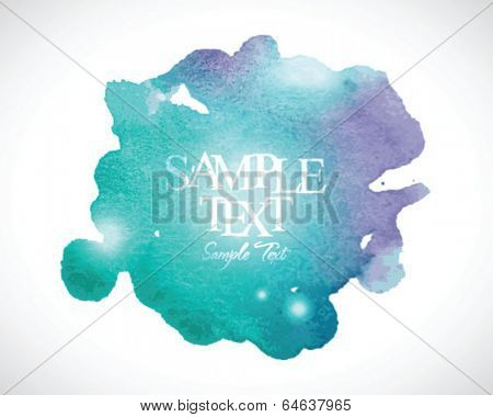 Abstract stylish watercolor background 01