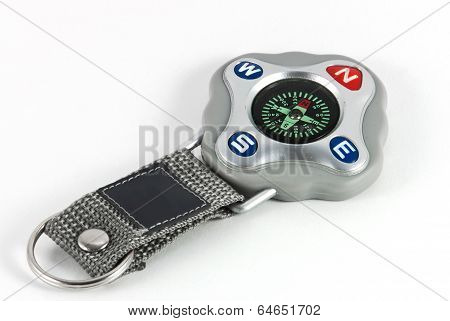 Keyholder With Compass