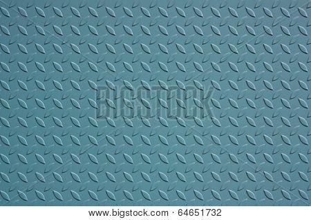 Azure Steel Plate
