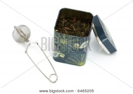 Tea infuser and can