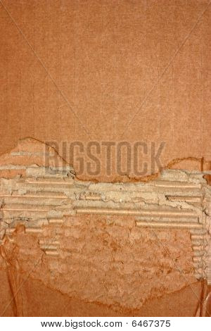 zerrissene Cardboard background