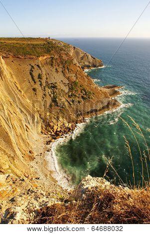 Landscape Of The Portuguese Coastline (cabo Espichel)