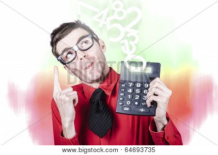 Smart Accountant Showing Income Tax Return Growth