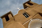 San Francisco de Asis Mission Church in New Mexico poster