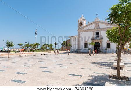 Public Square Called Praca Infante Dom Henrique In Lagos
