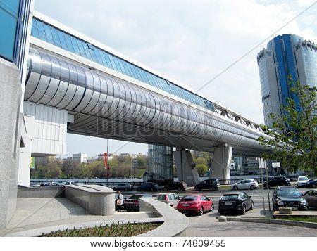 Moscow The Bagration Bridge 2011