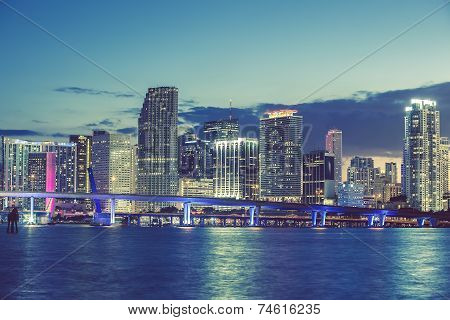 Miami, Florida, Special Photographic Processing.