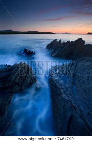 Ocean At Twilight