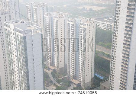 Apartment Buildings in Yantai China