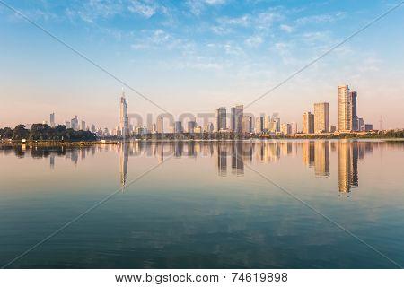 Nanjing Xuanwu Lake Of Beautiful Scenery