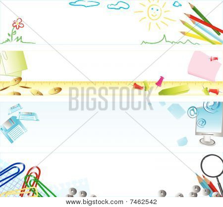 school web banners