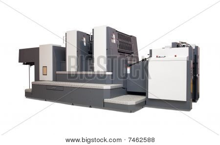 Two-section Offset Printed Machine