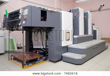 Offset Printed Machine