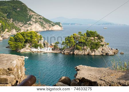 Panagia Island, Parga, Greece