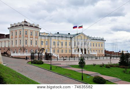 North Building Cannon. Kazansky Kremlin.