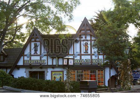 Chocolate House in HersheyPark