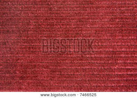 Vinous Velveteen Fabric