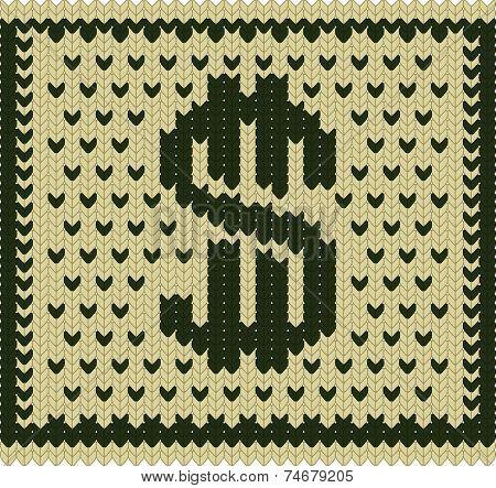 Knitted Dollar Scheme