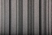 Closeup background of acoustic foam wall macro poster