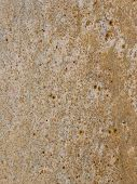bright brown granite with gray and orange stripes and blotches poster