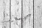 Damaged Wooden Planks Background For Your Design. poster