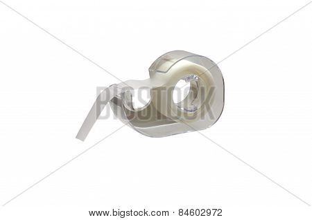 Scotch Tape Isolated Over White