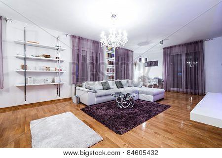 Luxury Specious Living Room Interior