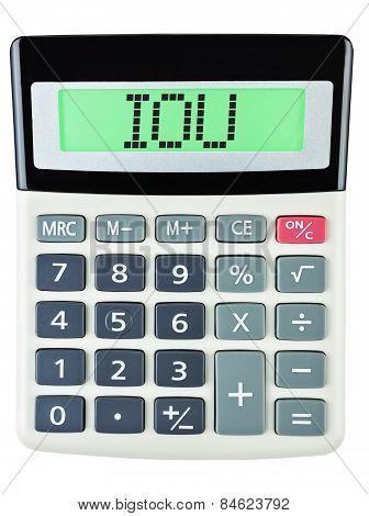 Calculator With Iou
