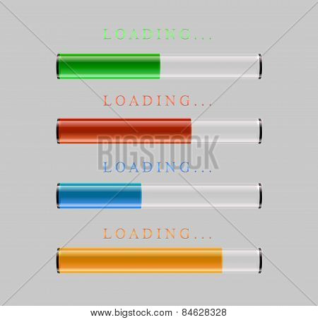 preloaders and progress loading bars