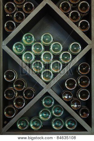 Wines On Wine Rack
