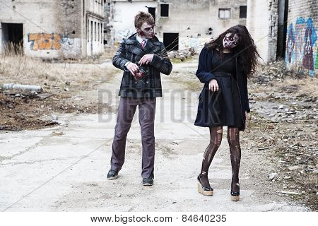 Spending Zombie Time Together