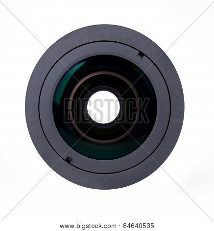 Camra Lens Isolated