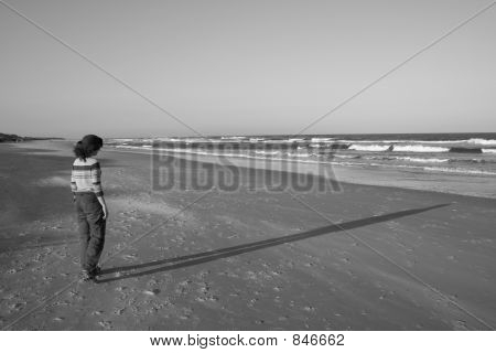Person on Beach
