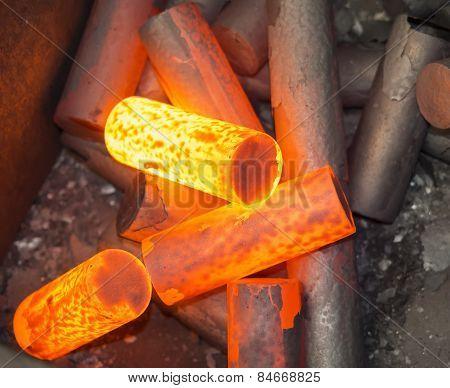 Billet Heating For Hot Forging