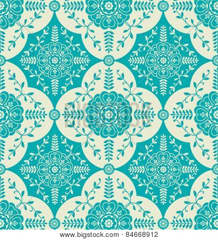 PATTERN WITH FLORAL ORNAMENTAL ELEMENTS. For your graphic projects, print and internet.