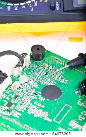 Probe Of The Digital Multimeter