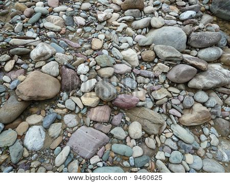 Creek Bed Rocks