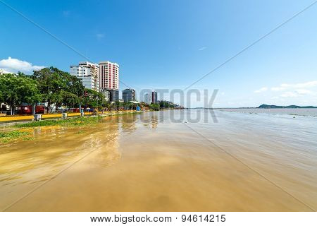 Gauayas River And Guayaquil