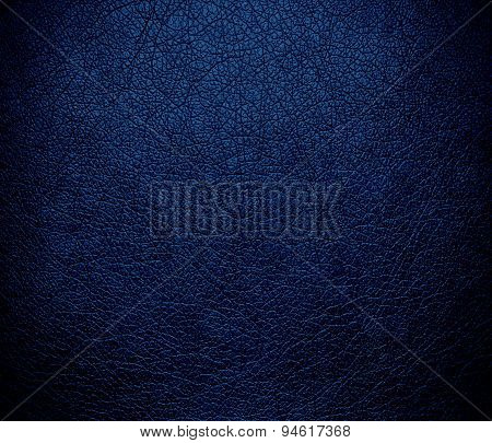 Dark midnight blue leather texture background