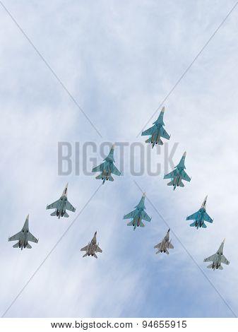 Aircraft Tig-29 And Sukhoi Flying Systems