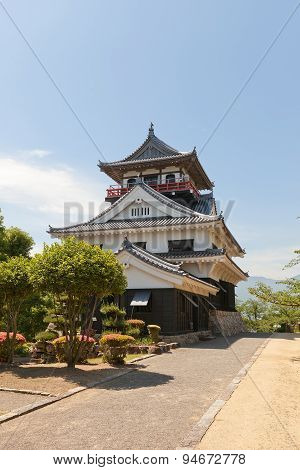 Main Keep (donjon) Of Kawanoe Castle, Shikokuchuo, Japan