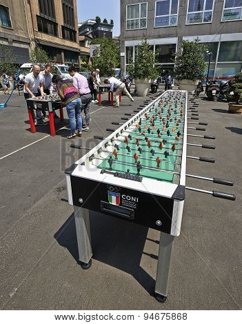 Huge Table Foosball