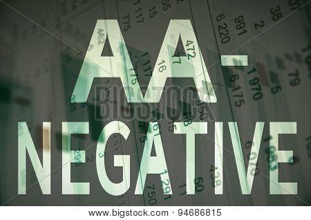 AA- negative
