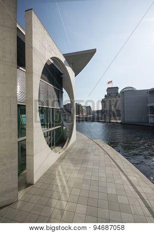 Bundeskanzleramt, Bundestag, Berlin, Government building