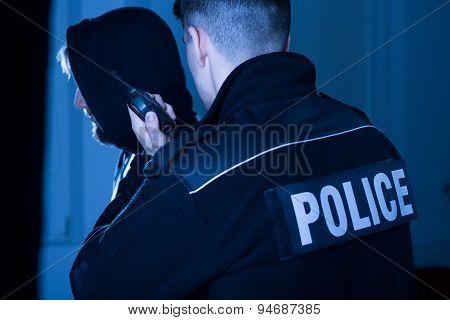 Cop Informing Police Commandant