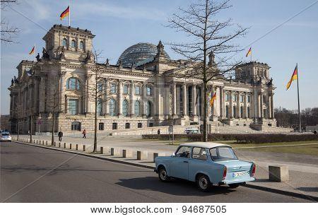 Reichstag, berlin, germany - german parliament building