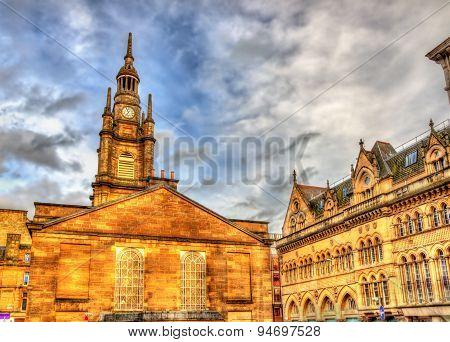 St. George's Tron Parish Church in Glasgow - Scotland poster