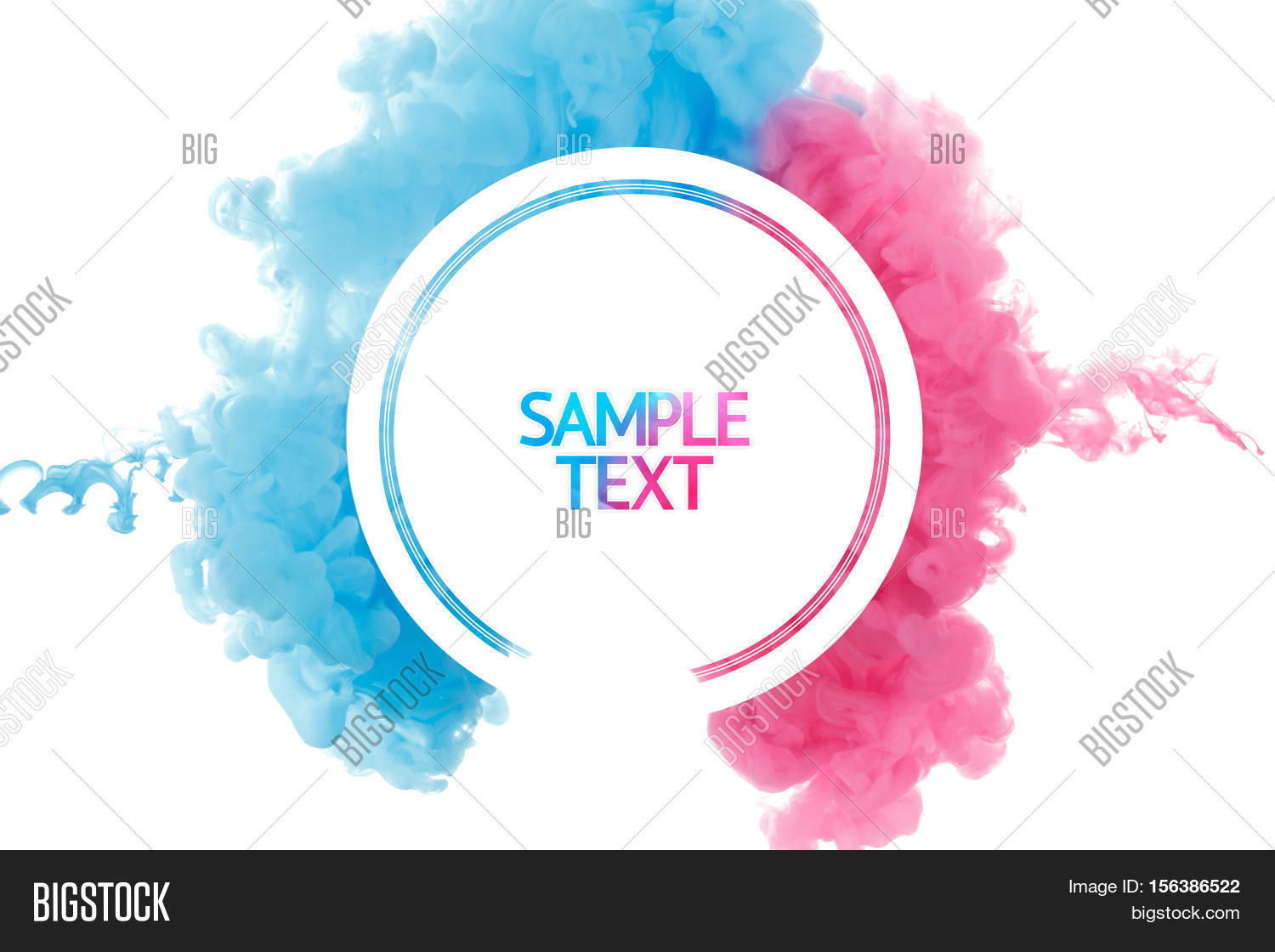Abstract Template   Color Paint Splash Image Photo Free Trial Bigstock